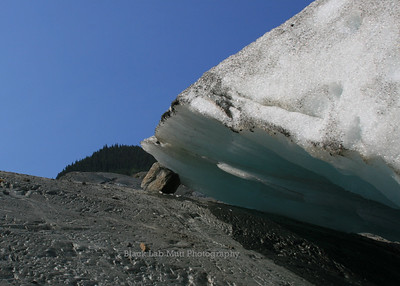 Holding up the glacier