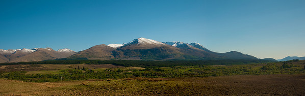 Grampian Mountains in the Lochaber area of the Scottish Highlands.