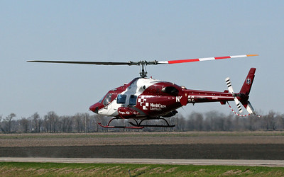 A medevac from a country road....near Barnesville MN.  There is a second photo in gallery.  Best viewed XLarge!