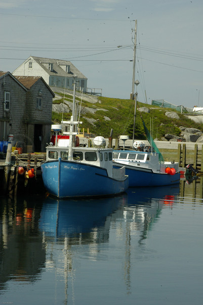 Harbor, Peggy's Cove, Nova Scotia, Can