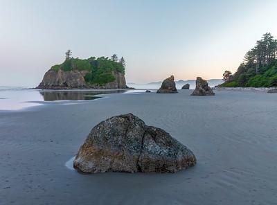La Push, 2nd beach, the Olympic Rain forest Washington