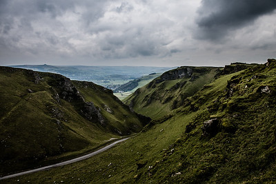 Winnats Pass - Peak District, UK