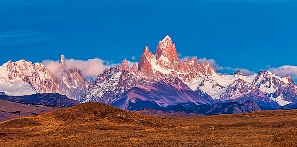 Cerro Fitz Roy or Chalten, Patagonia