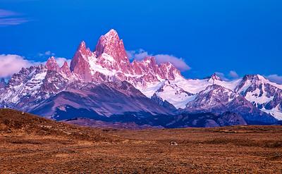 Fitz Roy aka Chaltan, Los Glaciares National Park, Patagonia, Argentina