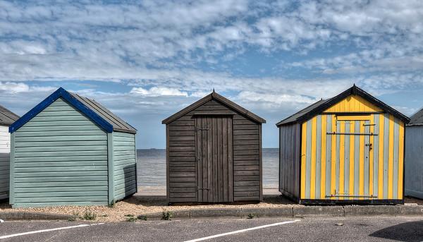 Felixstow  Beach  Huts