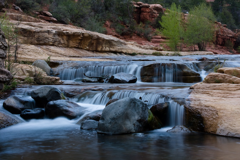 Oak Creek, Slide Rock State Park.  Sedona, Arizona