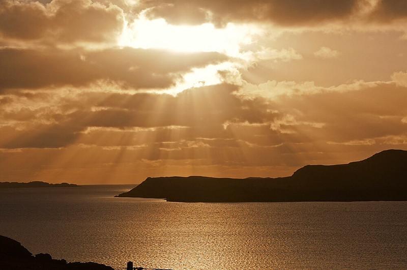 Sky ray  Scotland