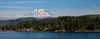 Mt. Rainier from Clear Lake Eatonville Washington