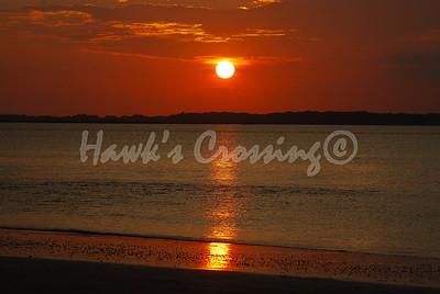 Sunset Tybee Island GA