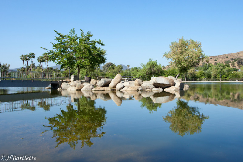 Santee Lakes, Santee, Ca.
