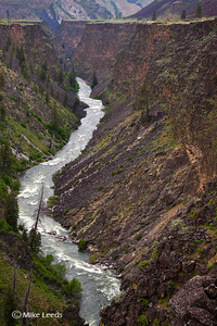 South Fork Boise River Canyon, Idaho.