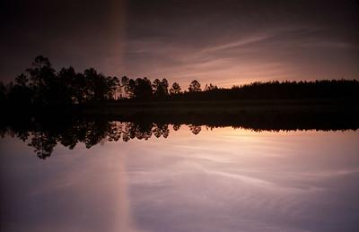 Lake in South Georgia