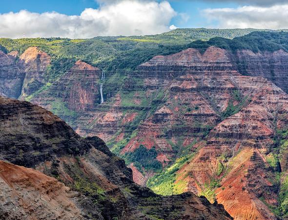 Waipo'o Falls,Kauai, Hawaii
