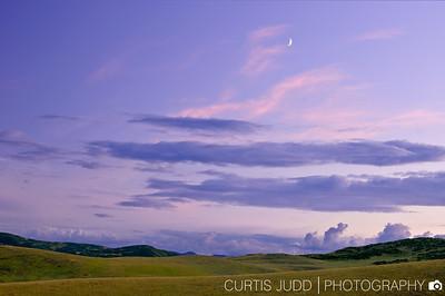 Evening Crescent 1