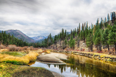 Fall on the North Fork of the Salmon River