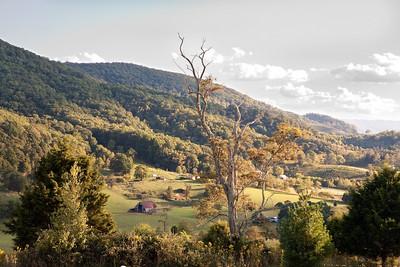 A valley in Virginia.