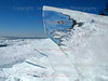 Ice Sheet on Lake Superior shore line