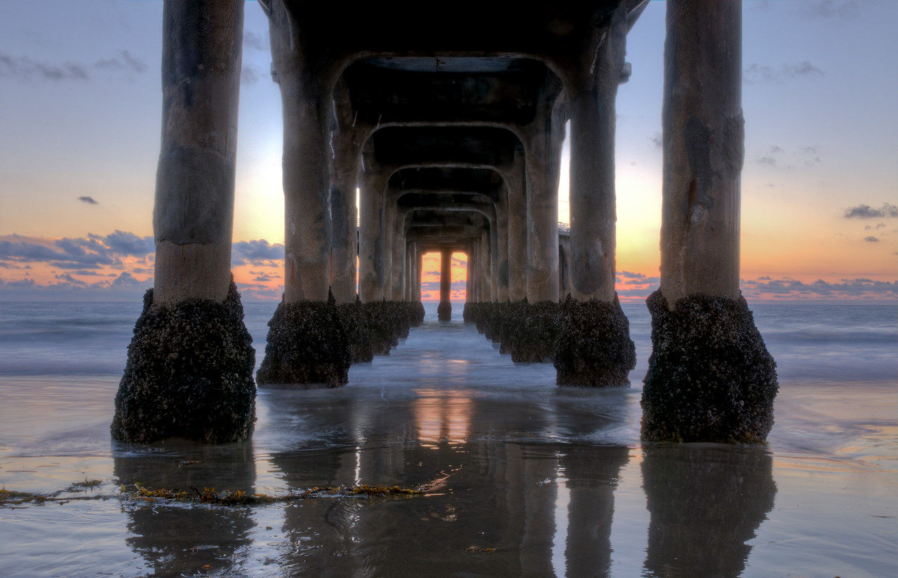 Manhattan Beach Pier Sunset 1