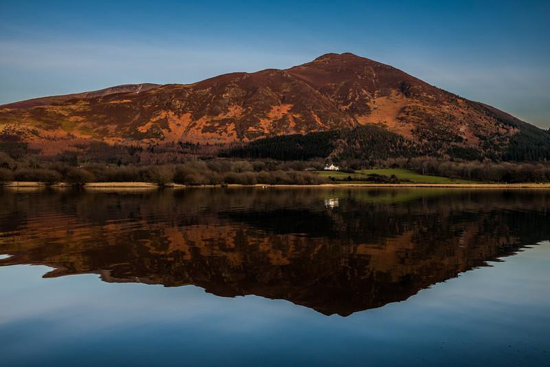 Little Man with Skiddaw behind from Bassenthwaite Lake - Lake District, UK