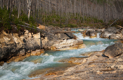 Marble Canyon, Kootenay National Park (August 2012)