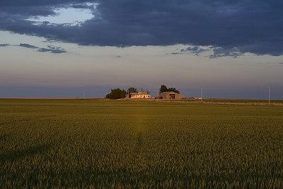Farmhouse in northwest Oklahoma