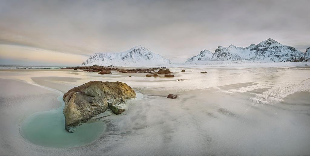 Flakstadoya Beach - Norway