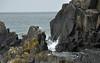 Sea crash against rocks