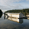 Early morning reflections Telegraph Harbor, Thetis Island BC