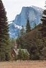 Chapel and Half Dome, Yosemite National Park, California