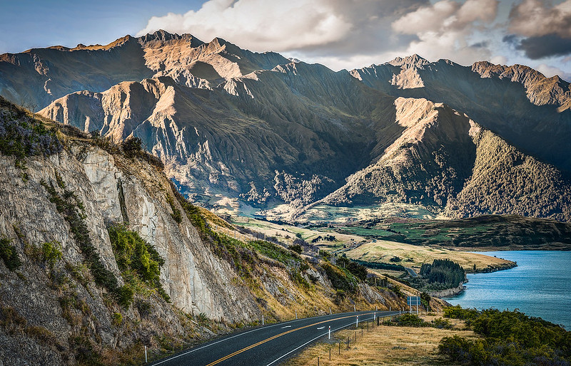 gentle rollers | lake hawea, new zealand
