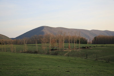 The actual Smith Mountain of Smith Mtn. Lake, Va.