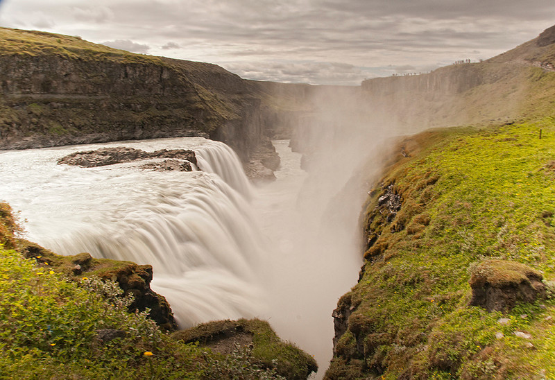 Gulfoss Waterfall Iceland