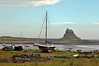 Low Tide At Holy Island