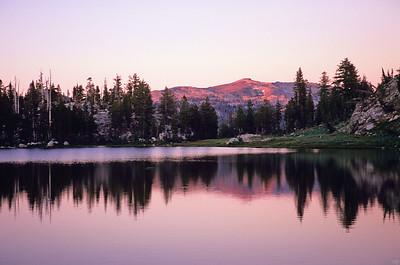Toejam Lake sunset