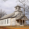 100 year old church in rural Chatham County