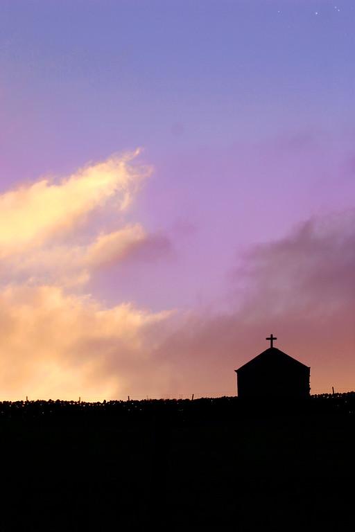 Sunset Church, England