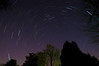 A star trail shot from rural Greenville County, SC.