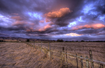 Stormy Clouds Sunset
