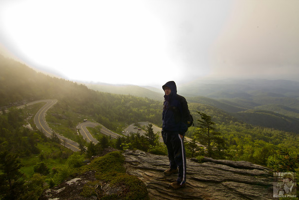 Waiting on sunrise - Grandfather Mountain, NC