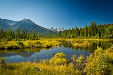 Vermillion Lakes Banff National Park Alberta, Canada © 2011