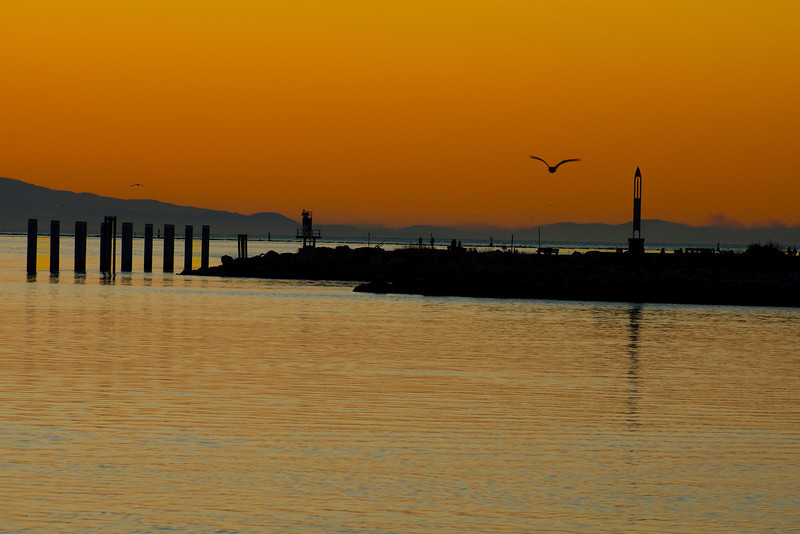 Steveston BC sunset