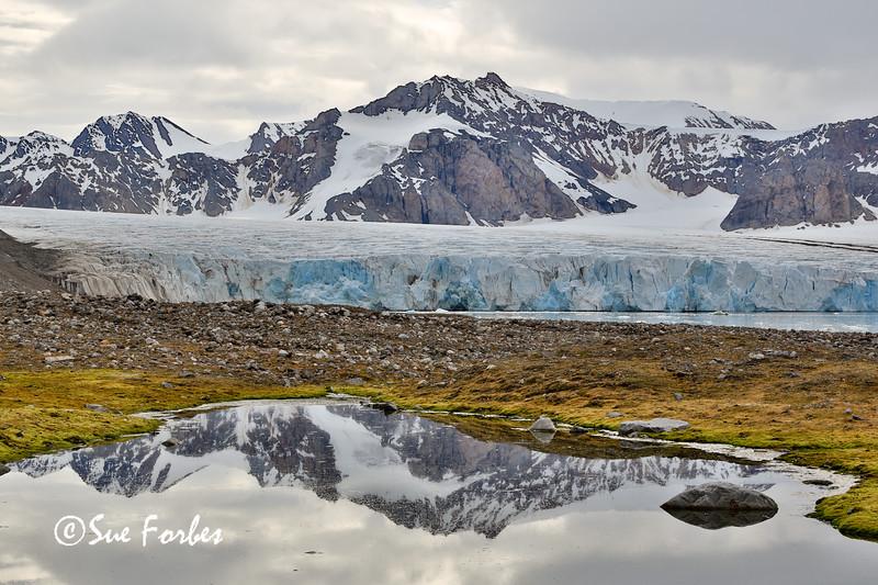14th July glacier, Kross Fjord, Spitsbergen