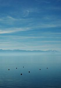 Winter bouys - Lake Tahoe.