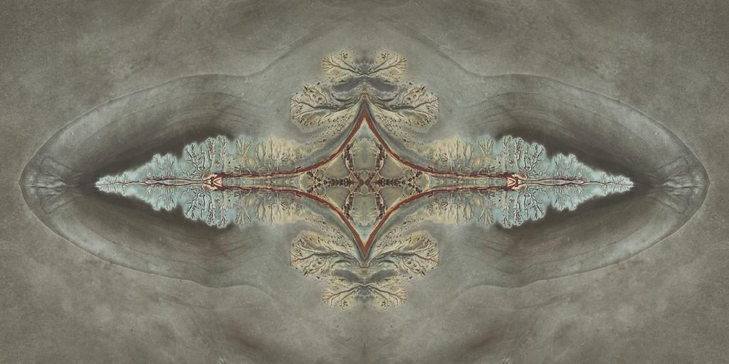 Mudflat aerial - Kununurra