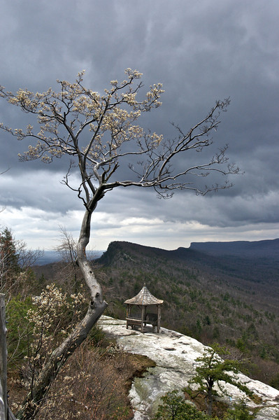 Spring, the Trapps, Mohonk Mountain House, New York