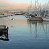 Monterey Wharf at Sunset