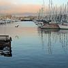 Monterey Wharf at Sunset