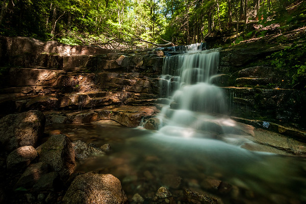 Stairs Falls, Falling Waters Trail - White-Mountains, New Hampshire