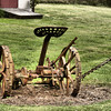 Old historic farm equipment