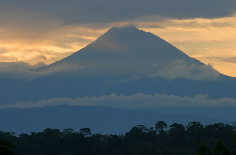 """Mountain Clouds""<br /> Ecuador, Amazon Rainforest"